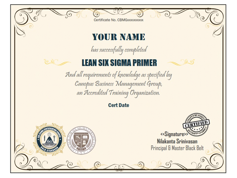 Where can I get Free Six Sigma certification?
