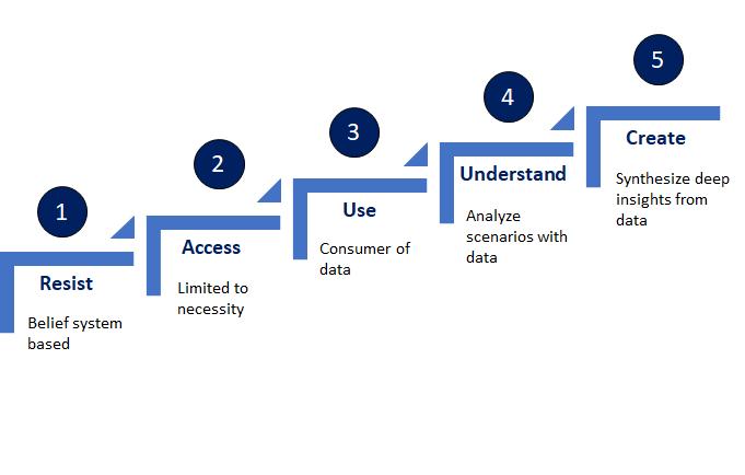 Data Based Mindsets - Maturity Levels